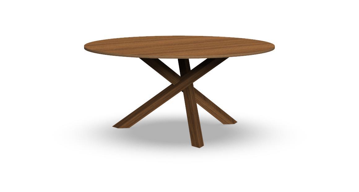 Bridge runder Tisch 150