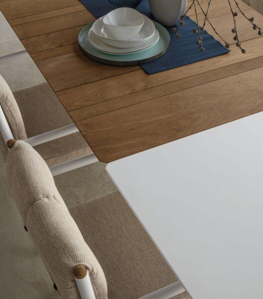 Domino Esstisch, ausziehbar, 200/260×100 2