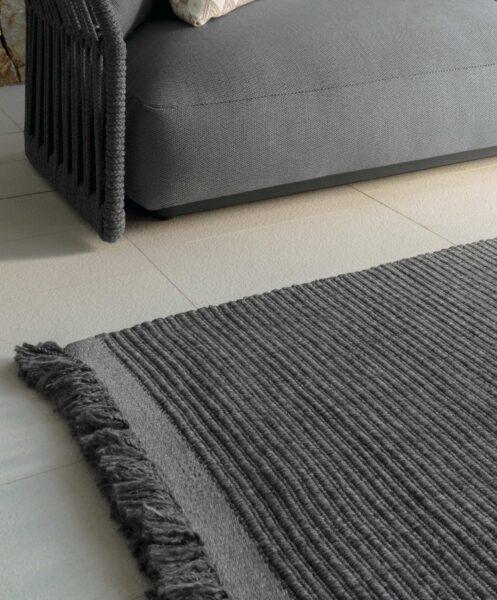 Accessoires Teppich Textilgewebe//Rippenoptik 0