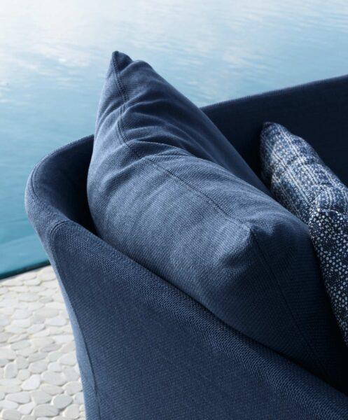 Cliff Sofa, Rückenlehne mit Textilbezug 0