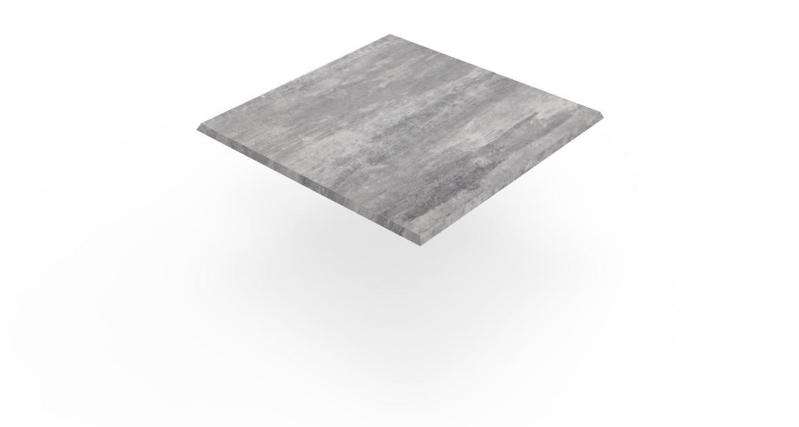 Isotop Tischplatte Zement