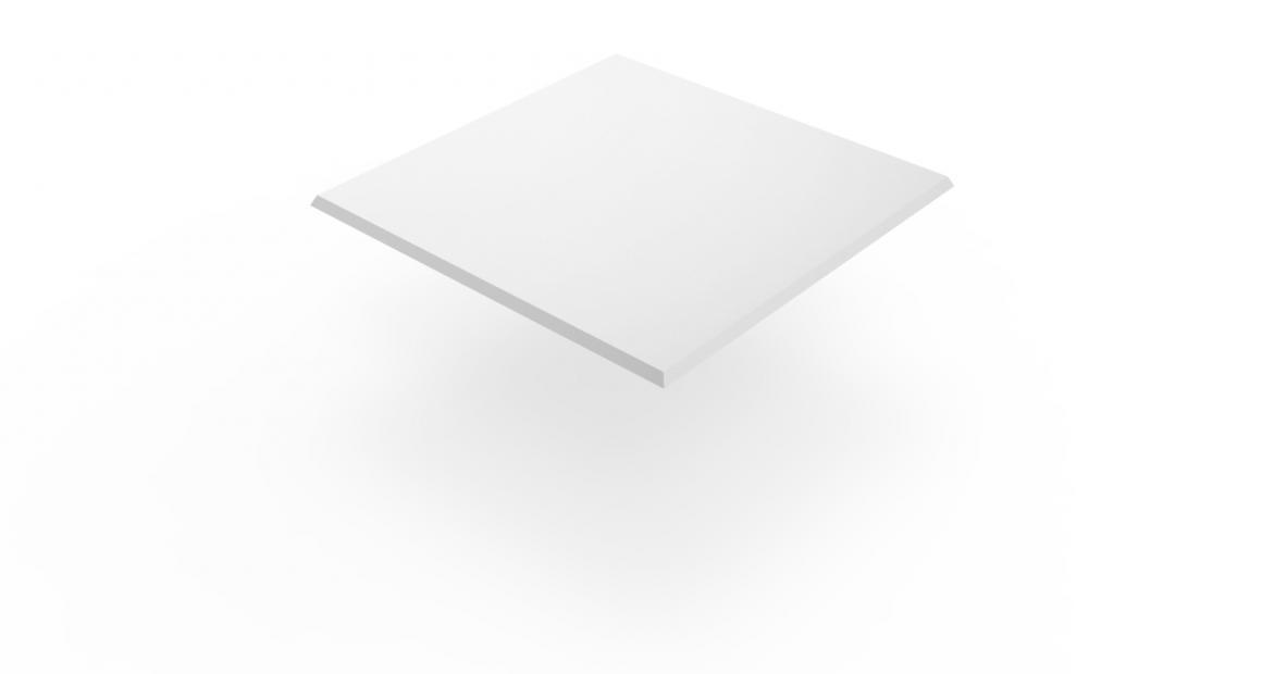 Isotop Tischplatte Weiß