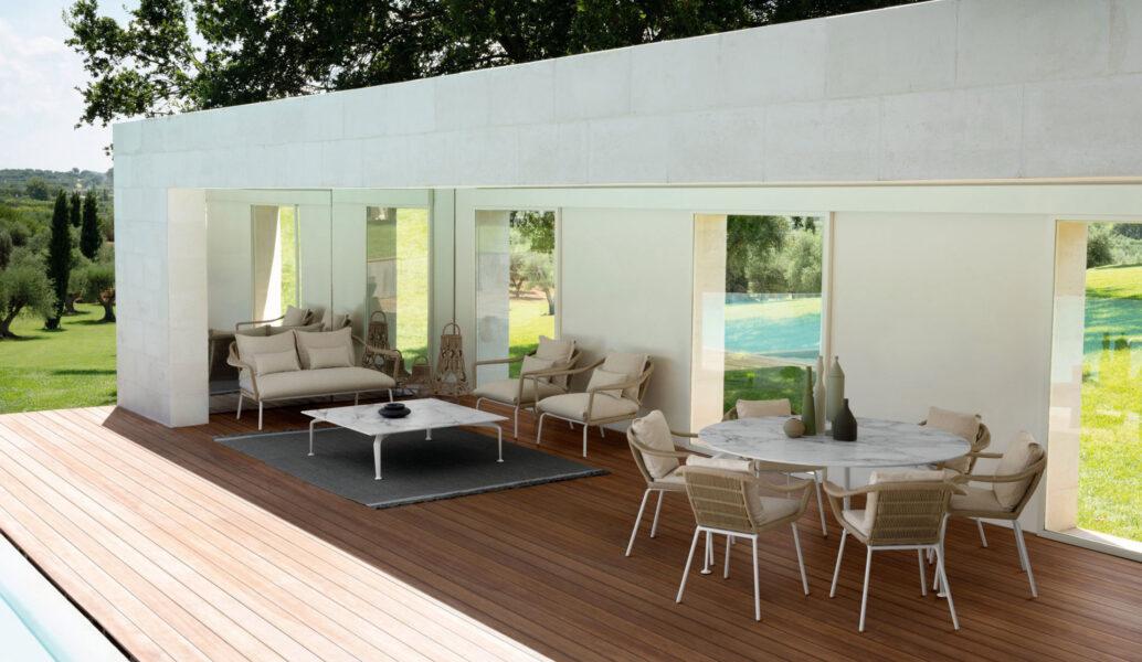 Cruise//alu Sofa Love Seat 1