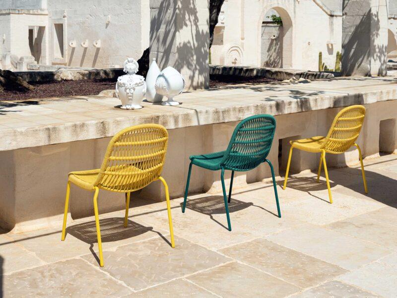 Panama Stuhl für den Essbereich 1