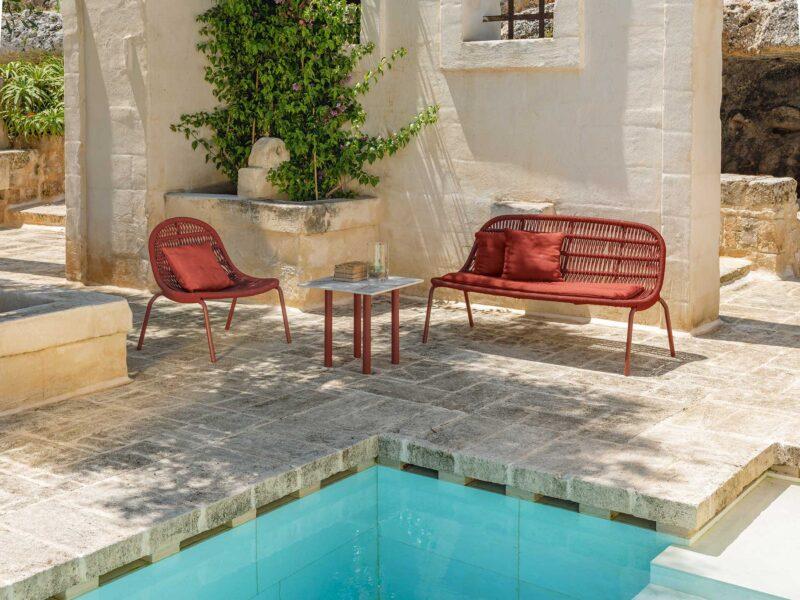 Panama Sofa Love Seat 0