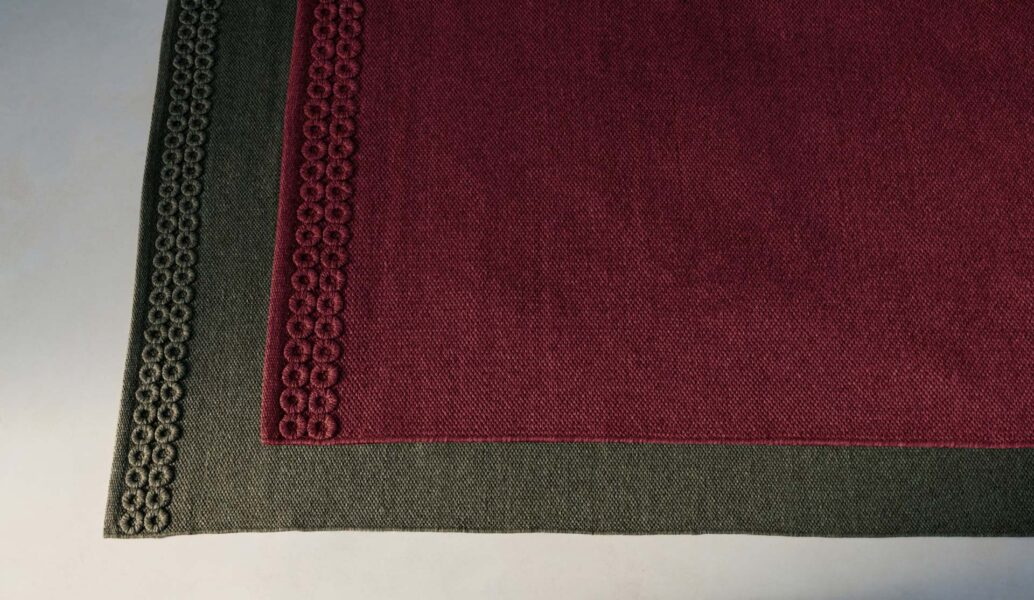 Accessoires Teppich Textilgewebe//Rahmenoptik 0