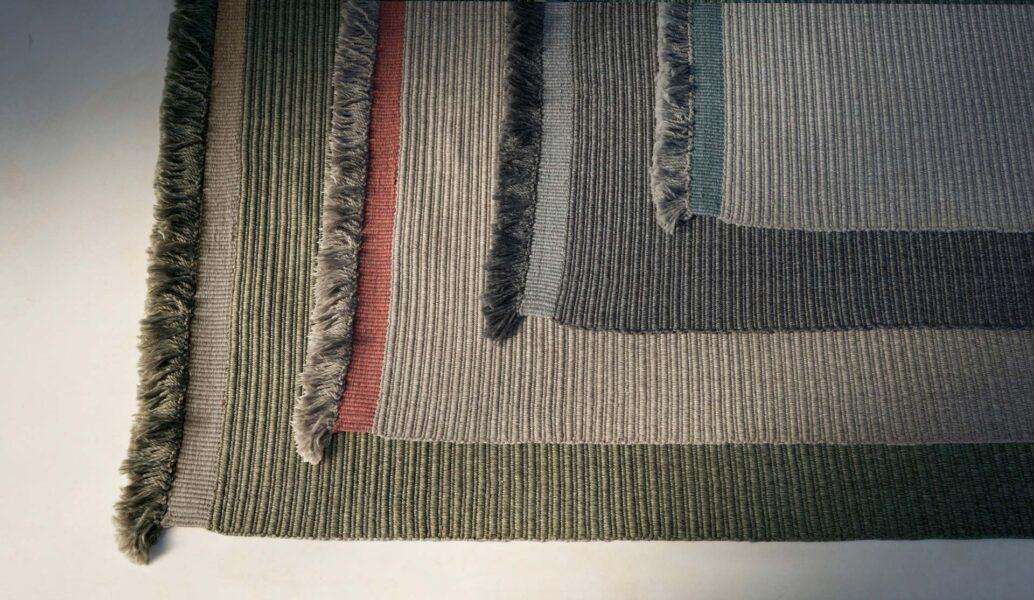Accessoires Teppich Textilgewebe//Rippenoptik 1