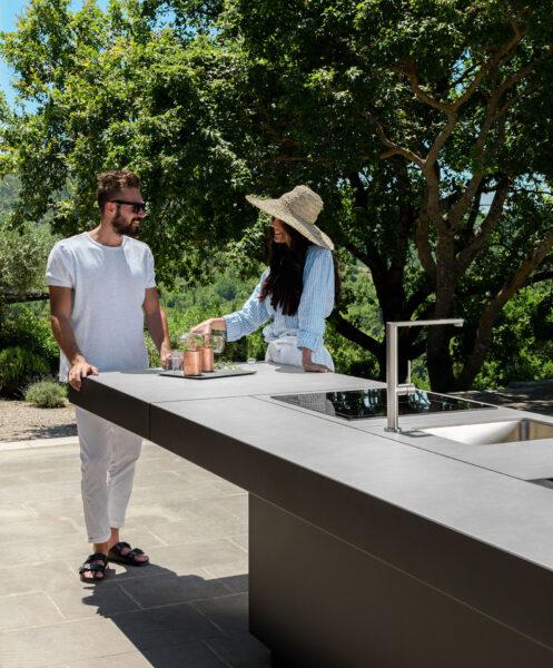 Tikal Küche mit 3 Modulen 5