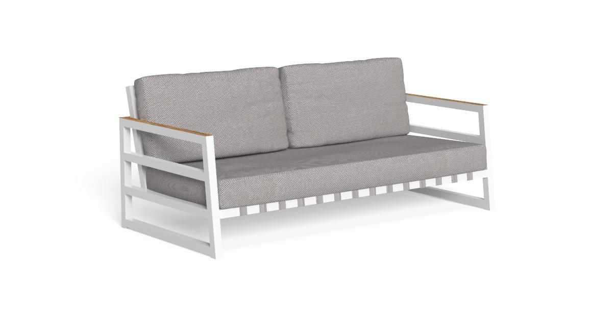 Alabama//Alu 2-Sitzer-Sofa