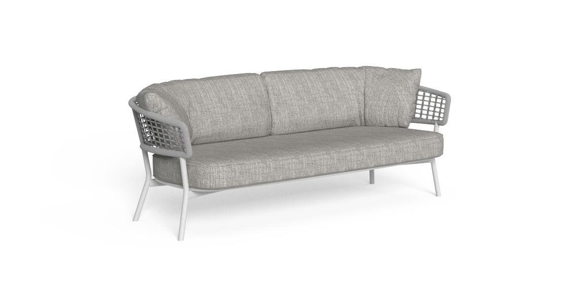Moon//Alu 2-Sitzer-Sofa