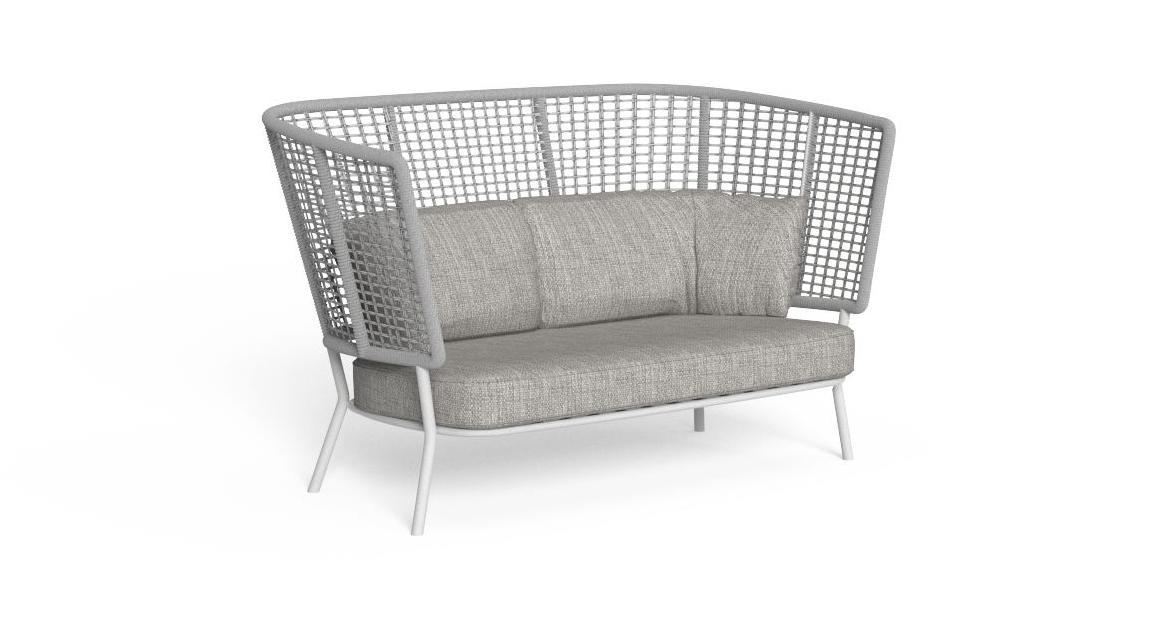 Moon//Alu Sofa Love Seat