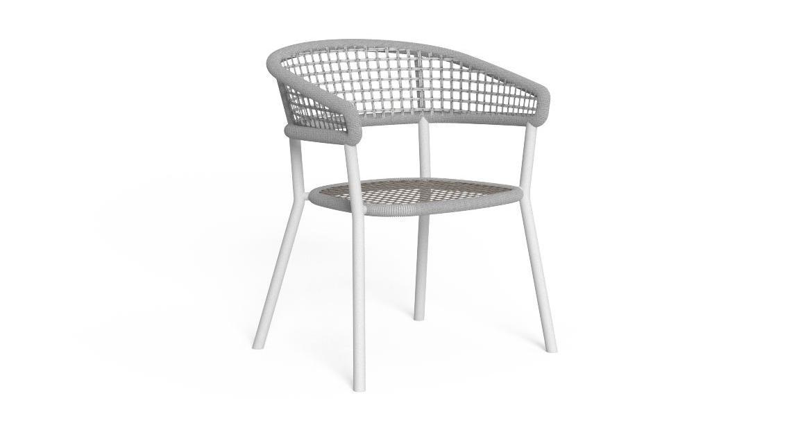 Moon//Alu Sessel für den Essbereich