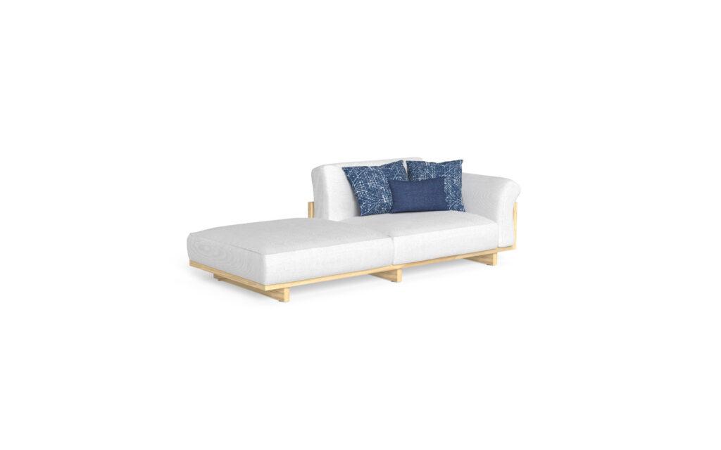 sofa sx + pouf