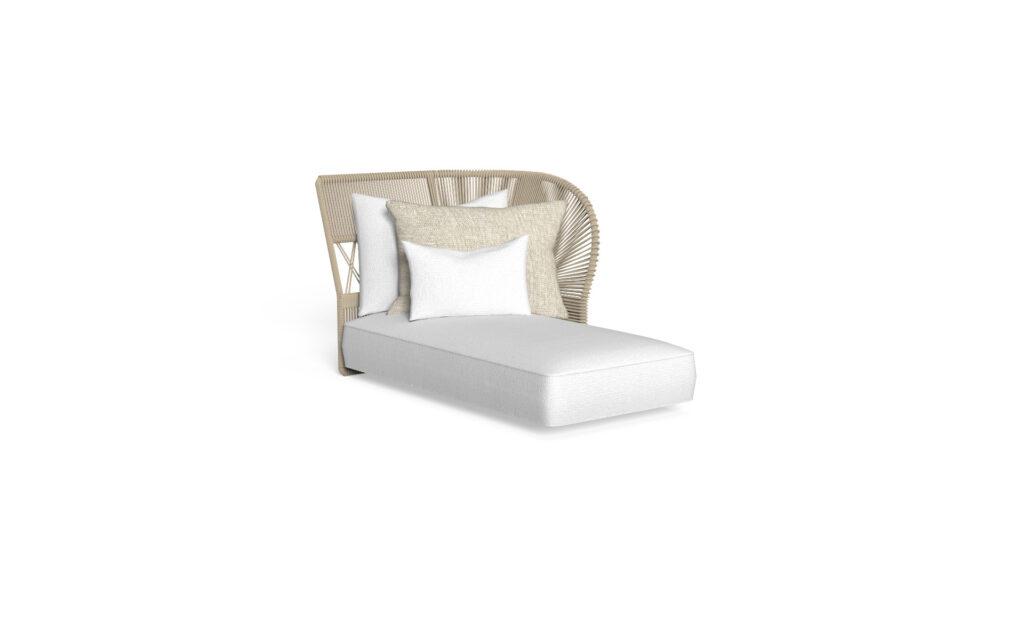sofa loungue sx backrest rope