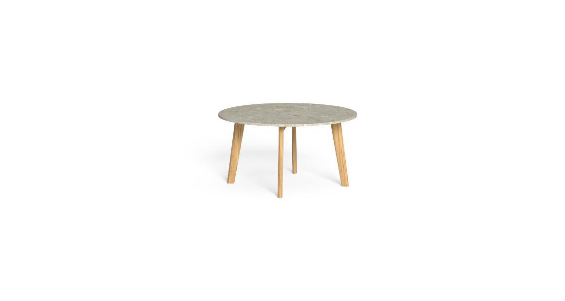 CleoSoft//Wood Couchtisch D75