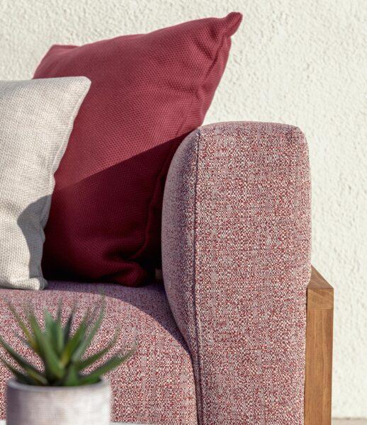 CleoSoft//Wood Love Seat Sofa 6