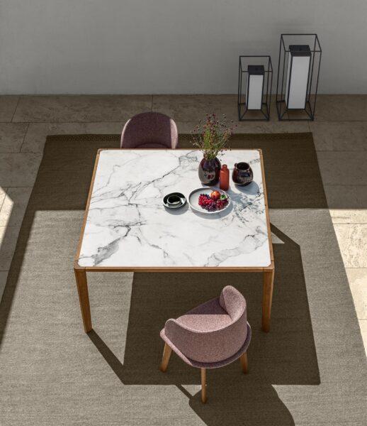 CleoSoft//Wood Love Seat Sofa 7