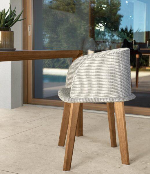 CleoSoft//Wood Love Seat Sofa 3
