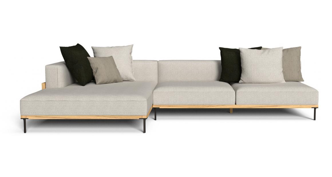 CleoSoft//Wood Modulare Sofa