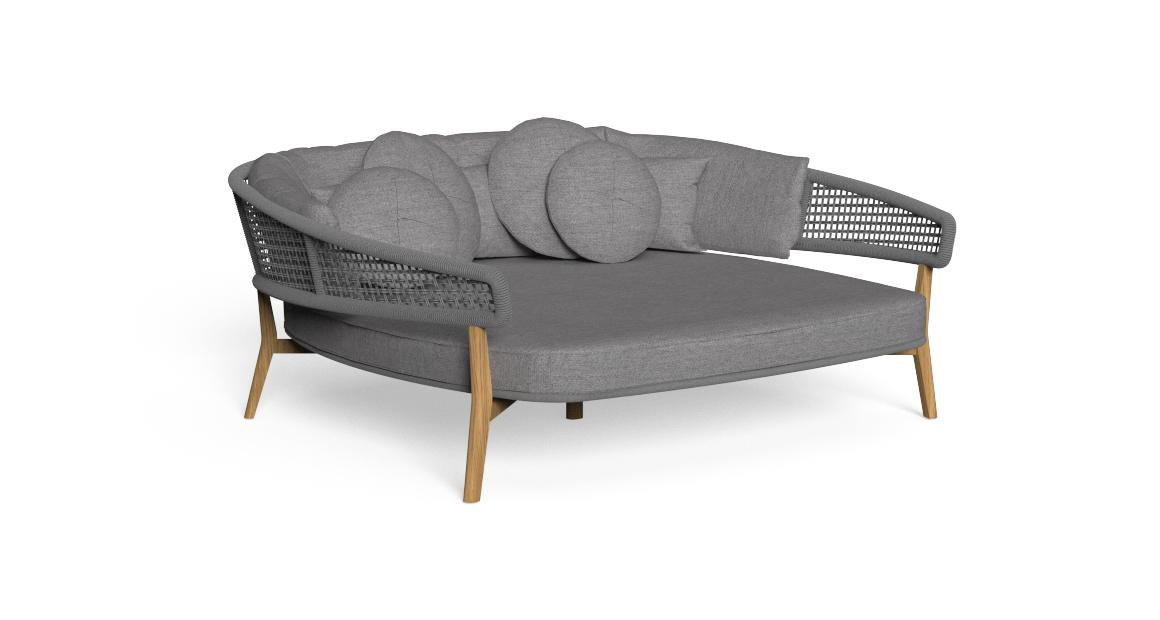 Moon//Teak Daybed